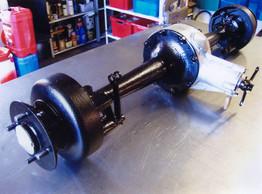 Calthorpe axle