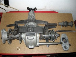 Axles and gearboxes