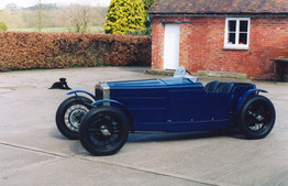 1930 Frazer Nash rebuild