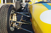 Front suspension detail and new rubber