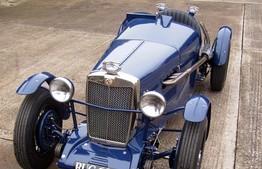 1935 MG Special rebuild